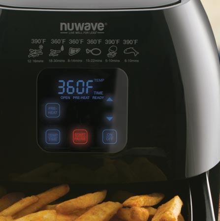 1 2 3 36001d nuwave brio digital air fryer - Nuwave Air Fryer