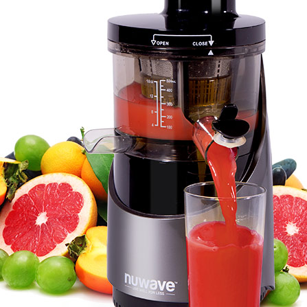 Nuwave Slow Juicer Reviews : NuWave Now Home Of The NuWave Oven, PIC, Brio & More!